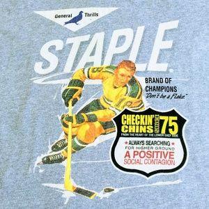 Staple Pidegon Brand of Champions Tee